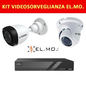Kit videosorveglianza ELMO