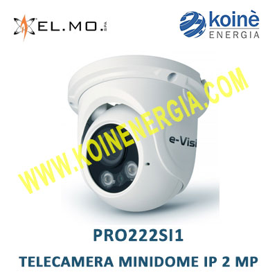 PRO222SI1 elmo telecamera minidome