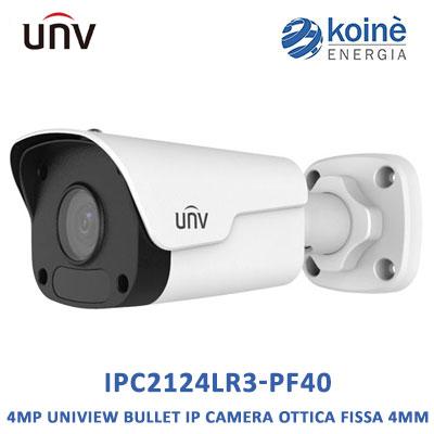Uniview IPC2124LR3-PF40 telecamera bullet