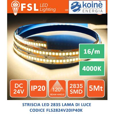 fsl striscia led FLS2824V20IP40K