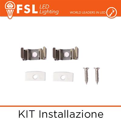 FLPAB-SUR2M kit installazione profilo u