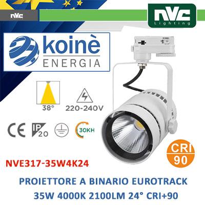 NVE317-35W4K24 proiettore a binario