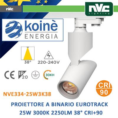 NVE334-25W3K38-nvc-proiettore-binario-a-led-25w