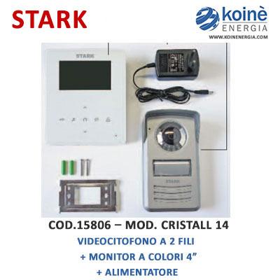 15806 kit Stark videocitofono monitor