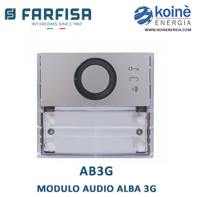 AB3G FARFISA Modulo audio Alba 3G