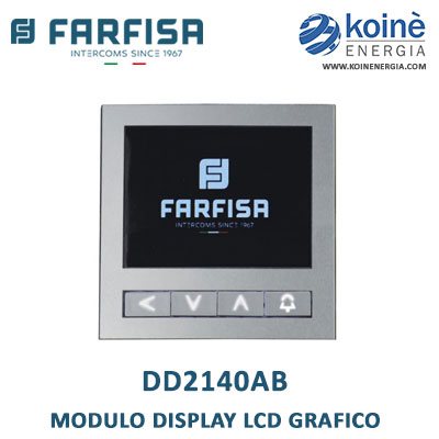 DD2140AB farfisa modulo display