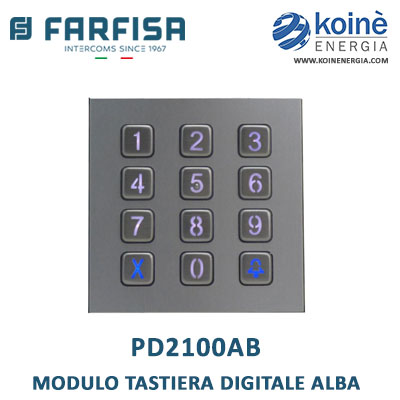 farfisa pd2100ab Modulo tastiera digitale Alba