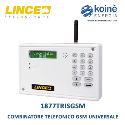 lince 1877trisgsm combinatore telefonico