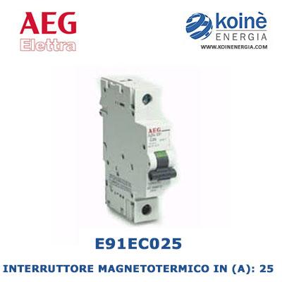 E91EC25-INTERRUTTORE-MAGNETOTERMICO-AEG-ELETTRA-